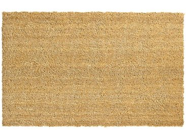 matches21 HOME & HOBBY Fußmatte »Fußmatten Kokosmatten Unifarben Indoor 50x80 cm«, rechteckig, Höhe 15 mm