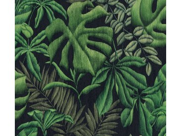 A.S. Création Vliestapete »Greenery mit Palmenprint in Dschungel Optik«, floral, grün, grün