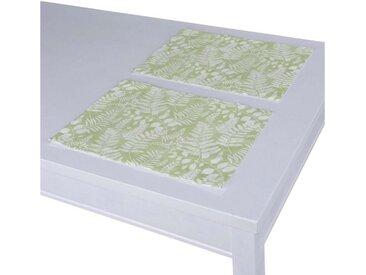 Dekoria Tischläufer, grün-weiß