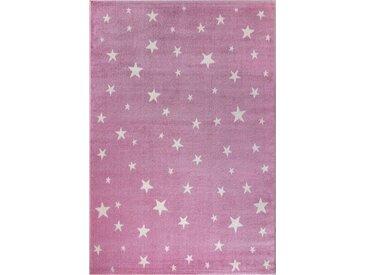Festival Kinderteppich »Dream 680«, rechteckig, Höhe 11 mm, Motiv Sterne, rosa, rosa