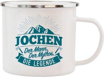 HTI-Living Becher »Echter Kerl Emaille Becher Jochen«