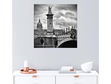 Posterlounge Wandbild, Pont Alexandre III PARIS, Premium-Poster