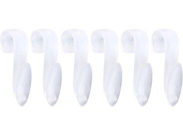 Wellgro Kleiderhaken »6x Rundheizkörperhaken - Top Qualität MADE IN GERMANY - Haken für Handtuch - Heizkörperhaken - Handtuchhaken - Farbe wählbar«