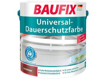 Baufix BAUFIX Acryl Buntlack »Universal-Dauerschutzfarbe«, nussbraun, 2,5 L, braun, 2.5 l, nussbraun