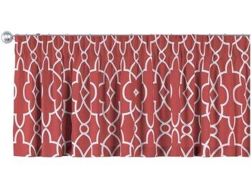 Dekoria Vorhang, rot-weiß