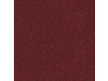 Teppichfliese »City«, quadratisch, Höhe 3 mm, selbstliegend, rot, 4 St., SL 150 rot