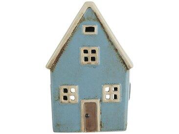 Ib Laursen Kerzenhalter »Lichterhaus Teelichthalter Teelichthaus Windlicht Haus H 14cm 2760-23«