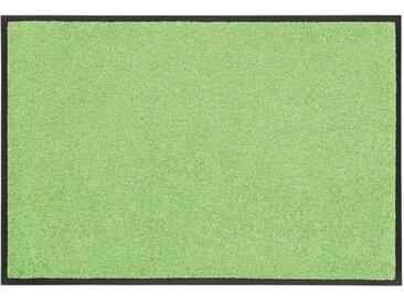 wash+dry by Kleen-Tex Fußmatte »Trend Uni«, rechteckig, Höhe 7 mm, Fussabstreifer, Fussabtreter, Schmutzfangläufer, Schmutzfangmatte, Schmutzfangteppich, Schmutzmatte, Türmatte, Türvorleger, In- und Outdoor geeignet, waschbar
