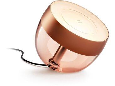 Philips Hue LED Tischleuchte »Iris«, Hue Tischleuchte mit integriertem Leuchtmittel, Limited Edition in Kupfer, Smarte Lichtsteuerung per Bluetooth oder Hue Bridge