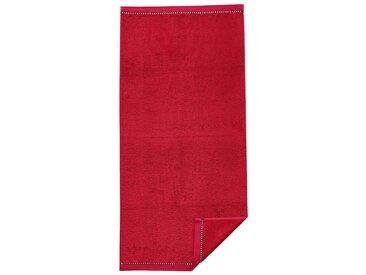 Esprit Handtuch, rot, rot
