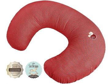 SEI Design Stillkissen »Schnecke«, mit Reißverschluss, rot, rot