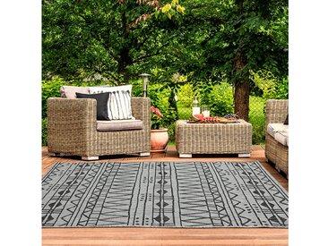 TEPPIA Outdoorteppich »ILLUSION 22375A«, rechteckig, Höhe 5 mm, Kurzflor, In- und Outdoor geeignet