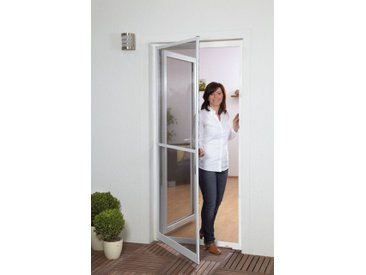 hecht international HECHT Insektenschutz-Tür »MASTER SLIM+«, weiß/anthrazit, BxH: 100x210 cm, grau, Türen, 100 cm x 210 cm, anthrazit