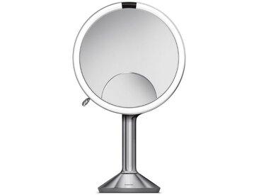 simplehuman Spiegel »20 cm Sensorspiegel trio«, silberfarben, silberfarben