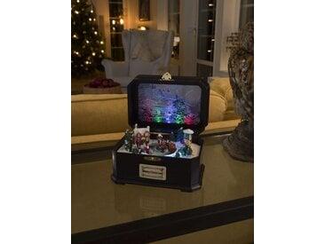 KONSTSMIDE LED Spieluhr mit Kindern, bunt, Lichtquelle bunt, Bunt