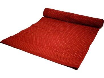 Guru-Shop Tagesdecke »Blockdruck Tagesdecke, Bett & Sofaüberwurf,..«
