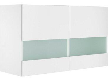 OPTIFIT Glashängeschrank »Roth« Breite 100 cm, weiß, weiß
