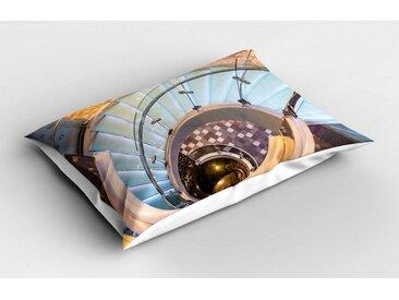 Abakuhaus Kissenbezug »Dekorativer Standard Size Gedruckter Kopfkissenbezug«, Die Architektur Treppe Städtische Treppen