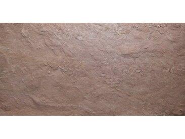 SLATE LITE Dekorpaneele »Cobre New«, Naturstein, Stärke 1,5 mm, 240 x 120 cm, rot, 240 x 120cm, natur/kupferfarben