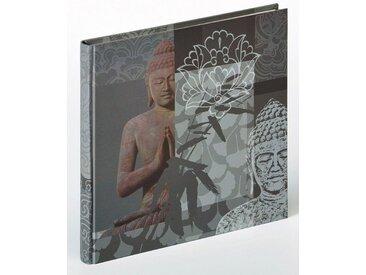 Walther Album »Buddha«, grau, grau