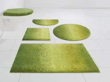 GRUND exklusiv Badematte »Mistral« , Höhe 20 mm, rutschhemmend beschichtet, fußbodenheizungsgeeignet, grün, grün
