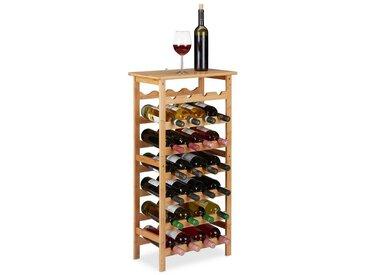 relaxdays Weinregal »Weinregal für 28 Flaschen«