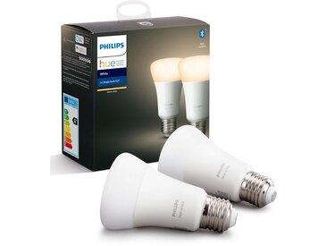 Philips Hue »White Doppelpack 1x806lm« LED-Leuchtmittel, E27, 2 Stück, Warmweiß