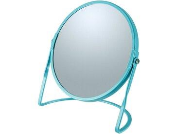 spirella Kosmetikspiegel »AKIRA«, mit 5-fach Vergrößerung, blau, blau