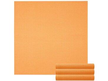Lashuma Handtuch Set »Pure« (Set, 4-tlg), Geschirrtuch 4er Set, Küchentücher Waffelpique 50 x 50 cm, gelb, curry