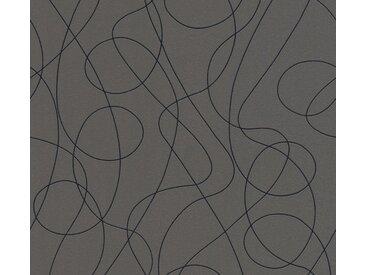 A.S. Création Vinyltapete, Moderne Tapete Grau Papiertapete 301611 Wandtapete Landhaus modern
