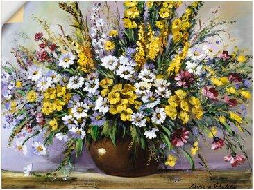 Artland Wandbild »Herrlichkeit von Gänseblümchen«, Blumen (1 Stück), Wandaufkleber - Vinyl