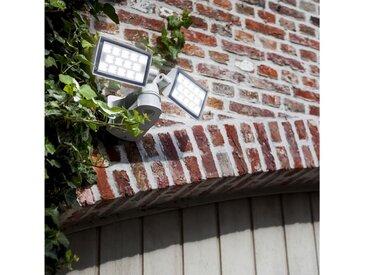 Lutec Gartenstrahler »LED Fluter Peri mit Sensor IP54 3280lm Weiß«