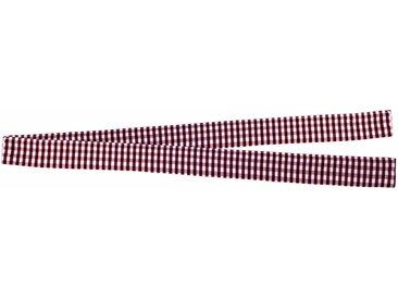 VHG Raffhalter »Resi«, Gardinen, (1-tlg), in Leinenoptik, rot, weinrot