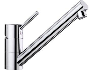 Blanco BLANCO Küchenarmatur »ANTAS«, Niederdruck, silberfarben, Strahl nicht umschaltbar, Bedienhebel oben, chrom x chrom