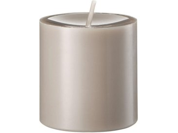 Engels Kerzen Stumpenkerze »Gegossen Kiesel H 8 cm«