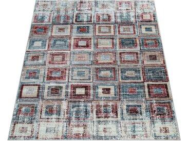 Paco Home Teppich »Zara 221«, rechteckig, Höhe 12 mm, Vintage-Teppich, abstraktes Design