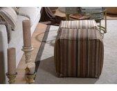 H.O.C.K. Sitzwürfel »Inca«, beige, natur