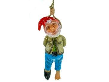 Kremers Schatzkiste Gartenzwerg »Gartenzwerg erhängt aus bruchfestem PVC Zwerg Made in Germany Figur«