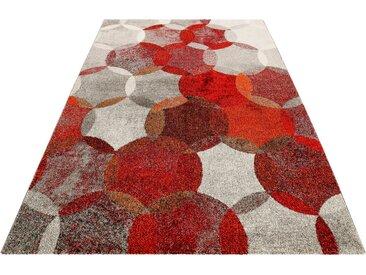Esprit Teppich »Modernina«, rechteckig, Höhe 13 mm, Kurzflor in moderem Design, rot, rot