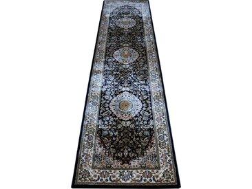 RESITAL The Voice of Carpet Läufer »Phenomen 0227«, rechteckig, Höhe 9 mm, Teppich-Läufer, Kurzflor, gewebt, Orient-Optik, blau, navy
