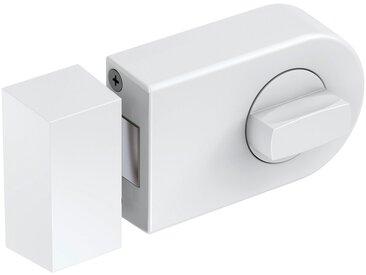 BASI Türzusatzschloss »Dornmaß 60 mm - weiß (abgerundet)«, Kastenschloss KS 500, weiß, weiß