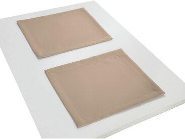 Adam Platzset, »Uni Collection«, GOTS zertifiziert, nachhaltig, braun, hellbraun