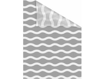 LICHTBLICK Fensterfolie »Welle«, blickdicht, strukturiert, selbstklebend, Sichtschutz