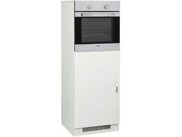 wiho Küchen Kühlumbauschrank »Flexi«, weiß, weiß