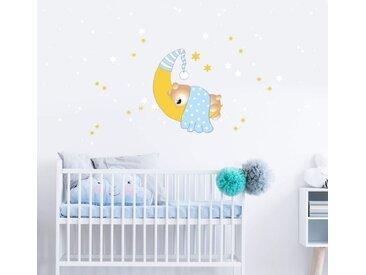 Wall-Art Wandtattoo »Bärchen Mond Leuchtsterne« (1 Stück)