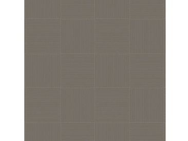 Andiamo Vinylboden »Coupon Chart«, verschiedene Breiten, Meterware, Fliesen-Optik, grau, dunkelgrau