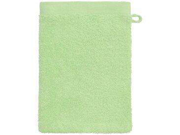 grace grand spa Waschlappen »Absolut« (3-tlg), mit breiter Webbordüre, grün, hellgrün
