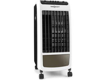 ONECONCEPT Ventilator Lufterfrischer Mobiles Klimagerät Luftreiniger 70 W »ACO3 CarribeanBlue«, weiß, Weiß