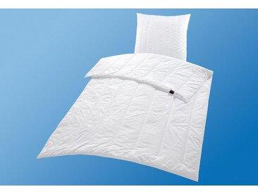 Centa-Star Microfaserbettdecke, »Sport Line«, leicht, Bezug: 100% Baumwolle, (1-tlg)