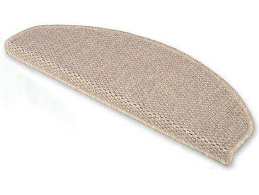 Floordirekt Stufenmatte »Kalkutta 1A«, Halbrund, Höhe 5 mm, natur, Beige